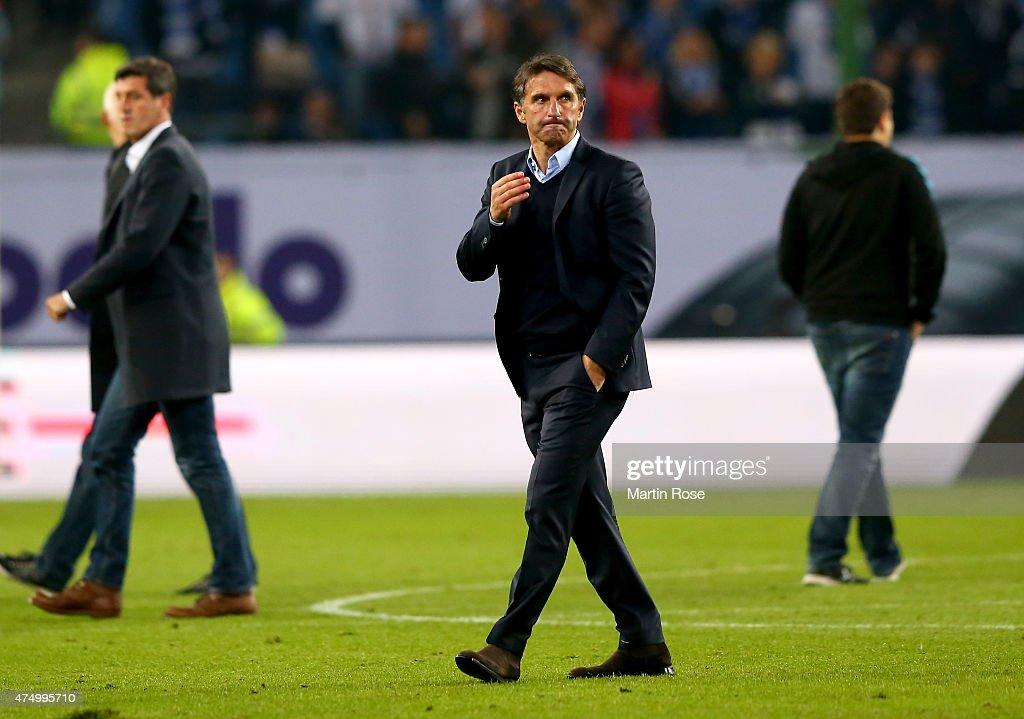Hamburger SV v Karlsruher SC - Bundesliga Playoff First Leg