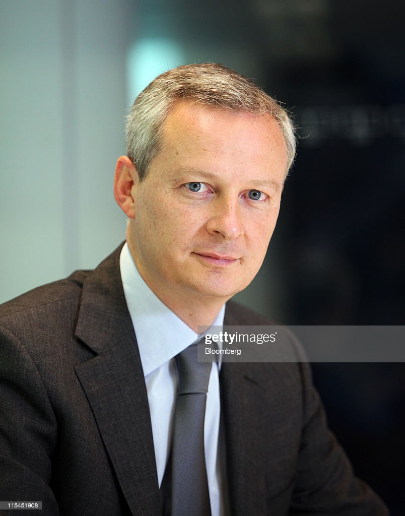 Bruno Le Maire , France39;s agriculture minister, poses for a photograph