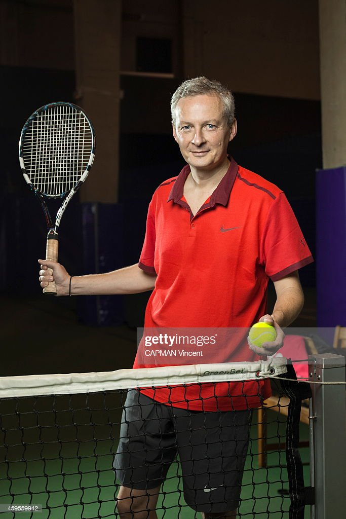 Bruno Le Maire of the Union for a Popular Movement UMP poses during