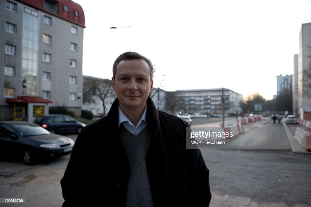 Bruno Le Maire , 38, UMP deputy of Eure, published January 9, 2008