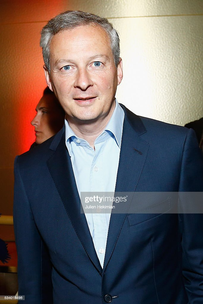 Bruno Lemaire attends the Atlantico 5th Anniversary at Cafe Campana at Musee d'Orsay on May 24, 2016 in Paris, France.