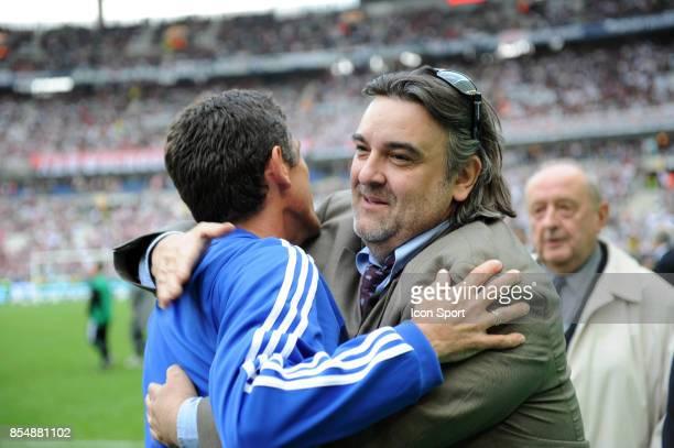 Bruno LIPPINI / Laurent NICOLLIN Montpellier / Nantes Finale de la Coupe Gambardella 2009 lever de Rideau de la Finale de la Coupe de France Stade de...