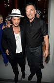 Bruno Mars and Bruce Springsteen attend the 37th Annual Kennedy Center Honors at The John F Kennedy Center for Performing Arts on December 7 2014 in...