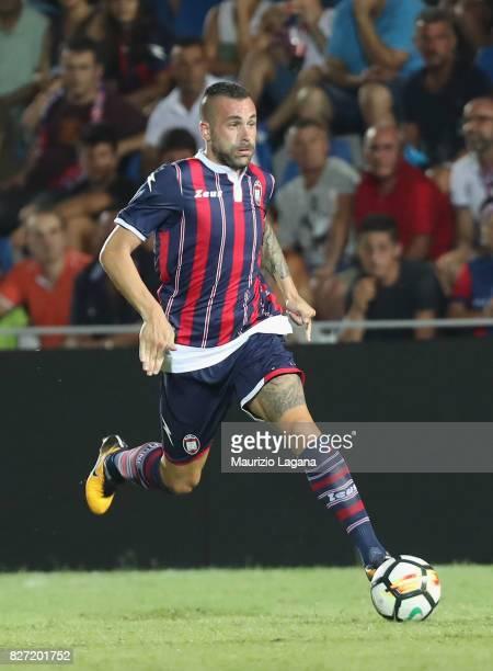 Bruno Martella of Crotone during the PreSeason Friendly match between FC Crotone and Cagliari Calcio at Stadio Comunale Ezio Scida on August 5 2017...