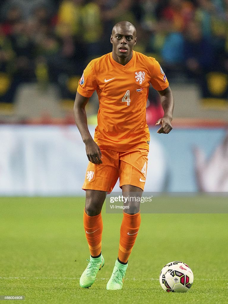 <a gi-track='captionPersonalityLinkClicked' href=/galleries/search?phrase=Bruno+Martins+Indi&family=editorial&specificpeople=7155940 ng-click='$event.stopPropagation()'>Bruno Martins Indi</a> of Holland during the UEFA Euro 2016 qualifying match between Netherlands and Turkey on March 28, 2015 at the Amsterdam Arena at Amsterdam, The Netherlands.