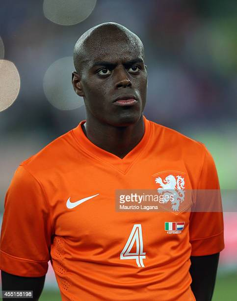 Bruno Martins Indi of Netherlands during the international friendly match between Italy and Nethrerlands at Stadio San Nicola on September 4 2014 in...