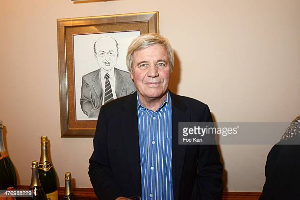 Bruno Masure attends the 'ADMD' Cocktail Dinner At Francoise on March 4 2014 in Paris France