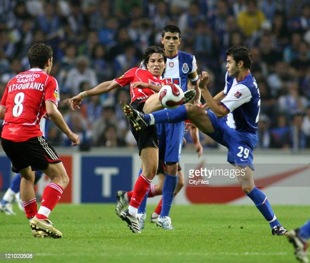 Bruno Moraes during the Champions league match between FC Porto and SL Benfica at Dragao Stadium in Porto Portugal on October 28 2006