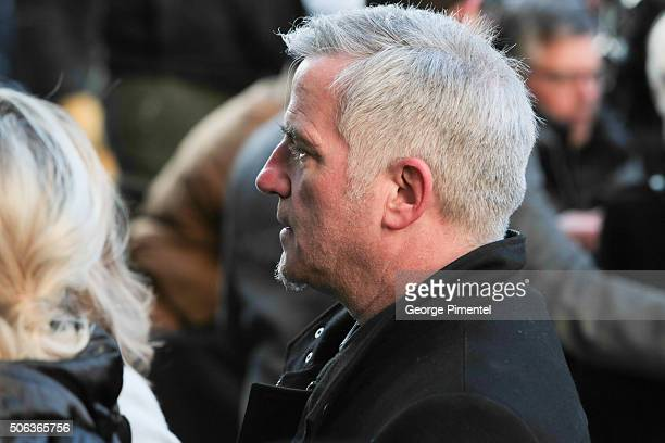 Bruno Pelletier attends the State Funeral Service for Celine Dion's Husband Rene Angelil at NotreDame Basilica on January 22 2016 in Montreal Canada
