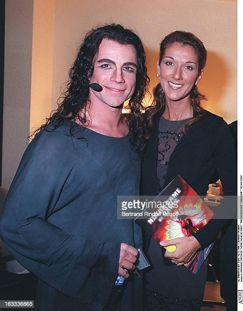 Bruno Pelletier Gringoire Celine Dion at theHommage Concert At NotreDame De Paris
