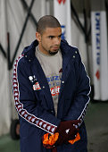 Bruno Peres before the Tim Cup match between Torino FC and AC Cesena at the Olympic Stadium of Turin on decenber 01 2015 in Turin Italy