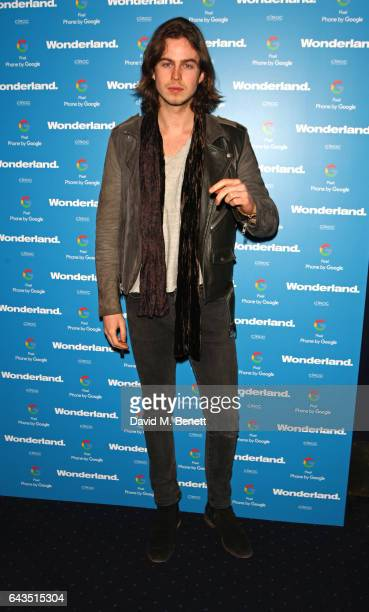Bruno Robinson attends the Wonderland Magazine x Google Pixel party at Tramp on February 21 2017 in London England