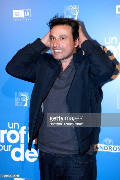 Bruno Salomone attends the 'Un profil pour deux' Paris Premiere at Cinema UGC Normandie on March 27 2017 in Paris France