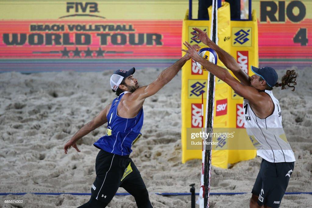 FIVB Beach Volleyball World Tour Rio - Day 2
