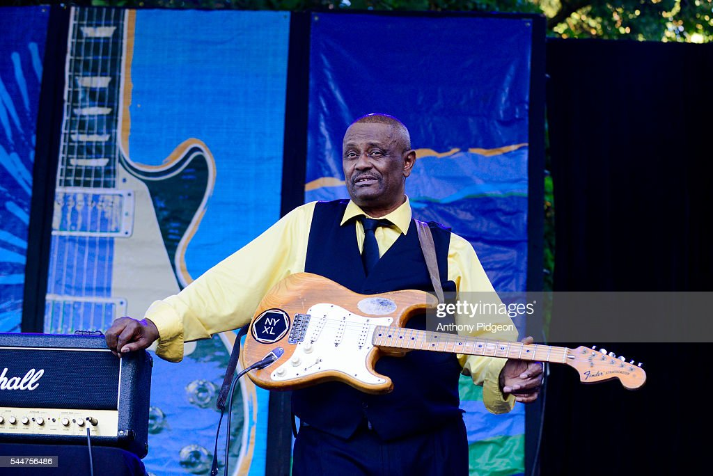 Bruno Spieght of Maceo Parker performs onstage at Waterfront Blues Festival at Tom McCall Waterfront Park on July 1 2016 in Portland Oregon