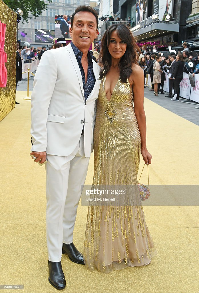 <a gi-track='captionPersonalityLinkClicked' href=/galleries/search?phrase=Bruno+Tonioli&family=editorial&specificpeople=742704 ng-click='$event.stopPropagation()'>Bruno Tonioli</a> (L) and Jackie St Clair attend the World Premiere of 'Absolutely Fabulous: The Movie' at Odeon Leicester Square on June 29, 2016 in London, England.
