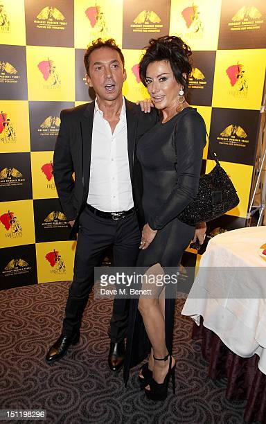 Bruno Tonioli and Nancy Dell'Olio attend the second annual 'Freddie For A Day' event in memory of Queen's late frontman Freddie Mercury at The Savoy...