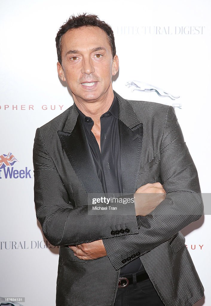 <a gi-track='captionPersonalityLinkClicked' href=/galleries/search?phrase=Bruno+Tonioli&family=editorial&specificpeople=742704 ng-click='$event.stopPropagation()'>Bruno Tonioli</a> arrives at the 7th Annual Britweek: BritWeek Design Icon Award presentation held at Christopher Guy West Hollywood Showroom on April 26, 2013 in West Hollywood, California.