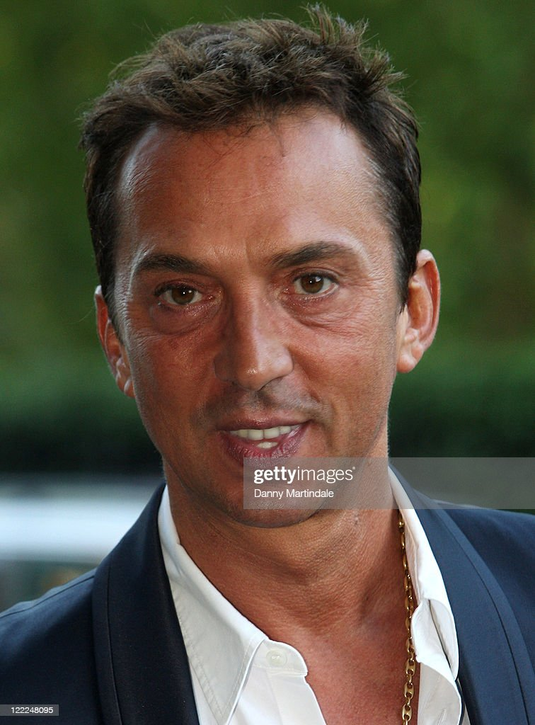 Bruno Tonioli attends Fight For Life's Strictly Dinner in aid of Children's cancer charity at Park Lane Hotel on June 15, 2010 in London, England.