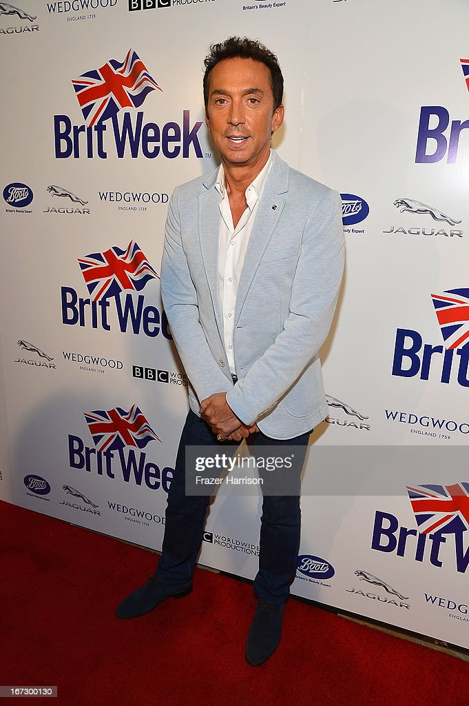 Bruno Tonioli attends the launch of the Seventh Annual BritWeek Festival 'A Salute To Old Hollywood' on April 23, 2013 in Los Angeles, California.