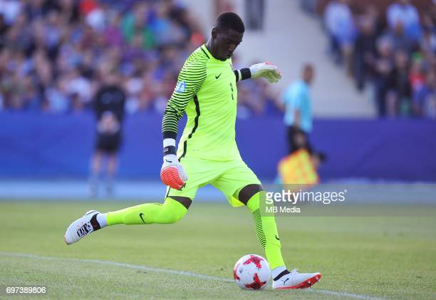 Bruno Varela during the UEFA European Under21 match between Portugal and Serbia at Arena Bydgoszcz on June 17 2017 in Bydgoszcz Poland