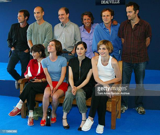Bruno Wolkowitch JeanMarc Barr Pierre Lescure Richard Anconina Charles Berling Cedric Kahn Chantal Akerman Irene Jacob Amira Casar Julie Gayet