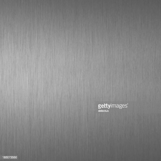 Brushed carbon gray metal texture