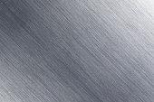 Detail of Brushed Metal plate