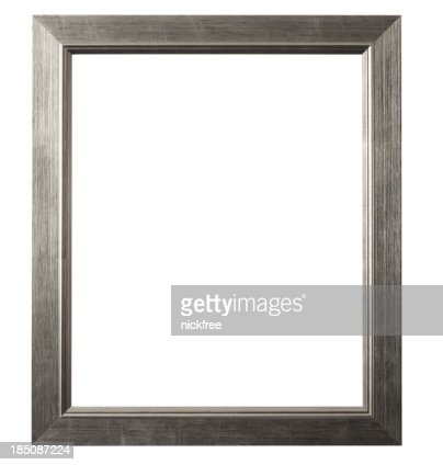 Brushed Silver Picture Frame