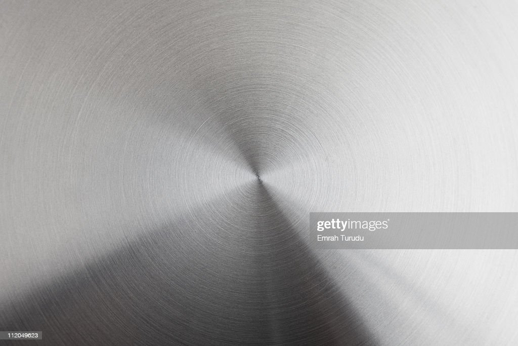 Brushed stainless steel : Foto stock