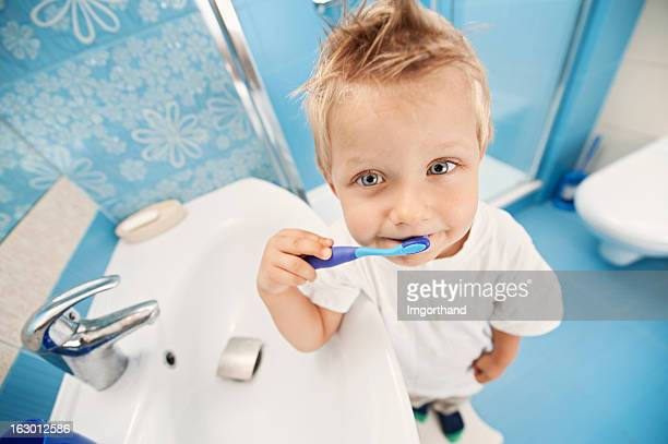 Brushing teeth is fun!