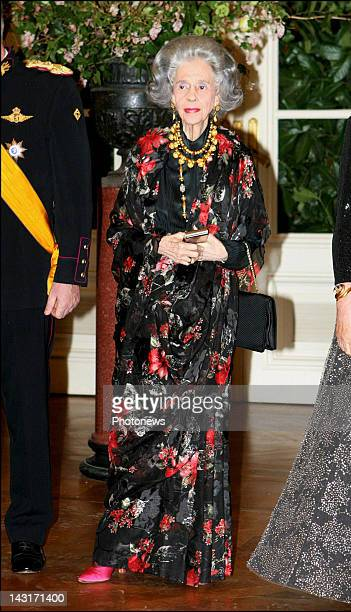 N°29273 Brussel/Belgium March 20th 2007 Grand Duke HENRI and Grand Duchess MARIA TERESA of Luxembourg were invited at the galadinner hosted by King...