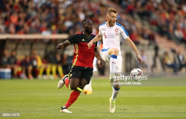 20170605 Brussels Belgium / International friendly game Belgium v Czech Republic /'nRomelu LUKAKU Jakub BRABEC'nPicture by Vincent Van Doornick /...