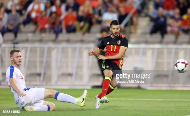 20170605 Brussels Belgium / International friendly game Belgium v Czech Republic /'nJakub BRABEC Kevin MIRALLAS'nPicture by Vincent Van Doornick /...