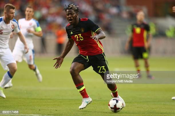 20170605 Brussels Belgium / International friendly game Belgium v Czech Republic /'nMichy BATSHUAYI'nPicture by Vincent Van Doornick / Isosport