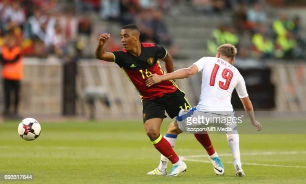 20170605 Brussels Belgium / International friendly game Belgium v Czech Republic /'nYouri TIELEMANS Ladislav KREJCI'nPicture by Vincent Van Doornick...