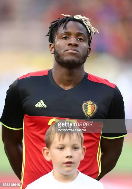 20170605 Brussels Belgium / International friendly game Belgium v Czech Republic /'nMichy BATSHUAYI Headshot Portrait 'nPicture by Vincent Van...