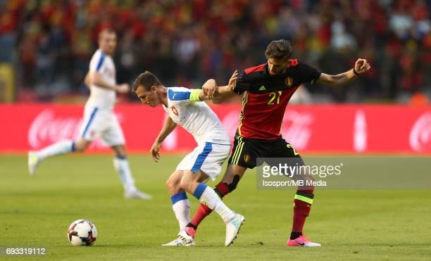 20170605 Brussels Belgium / International friendly game Belgium v Czech Republic /'nVladimir DARIDA Yannick CARRASCO'nPicture by Vincent Van Doornick...