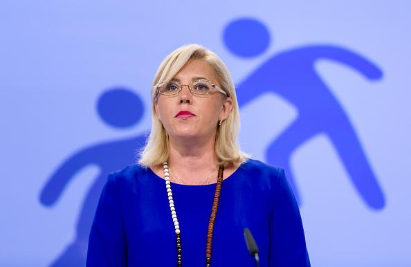 Brussels Belgium July 15 Regional Policy Corina Cretu And The Picture