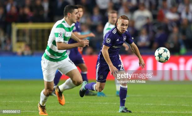 20170927 Brussels Belgium / Rsc Anderlecht v Celtic Fc / 'nAdrien TREBEL'nFootball Uefa Champions League 2017 2018 Group stage Matchday 2 Group B /...