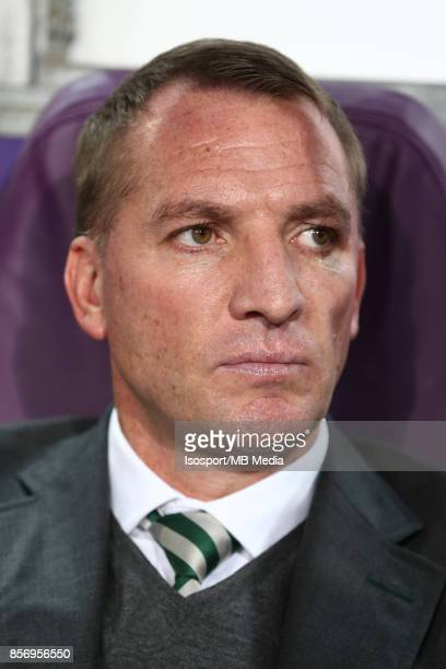 20170927 Brussels Belgium / Rsc Anderlecht v Celtic Fc / 'nBrendan RODGERS'nFootball Uefa Champions League 2017 2018 Group stage Matchday 2 Group B /...
