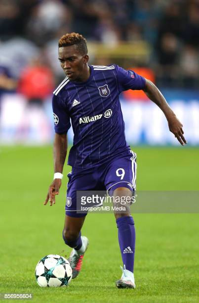 20170927 Brussels Belgium / Rsc Anderlecht v Celtic Fc / 'nHenry ONYEKURU'nFootball Uefa Champions League 2017 2018 Group stage Matchday 2 Group B /...
