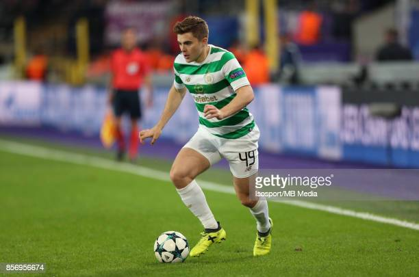 20170927 Brussels Belgium / Rsc Anderlecht v Celtic Fc / 'nJames FORREST'nFootball Uefa Champions League 2017 2018 Group stage Matchday 2 Group B /...