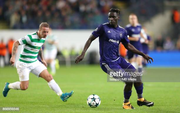 20170927 Brussels Belgium / Rsc Anderlecht v Celtic Fc / 'nKara MBODJI'nFootball Uefa Champions League 2017 2018 Group stage Matchday 2 Group B /...