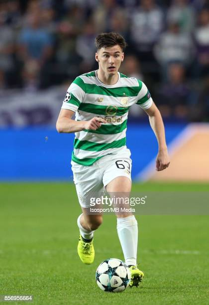 20170927 Brussels Belgium / Rsc Anderlecht v Celtic Fc / 'nKieran TIERNEY'nFootball Uefa Champions League 2017 2018 Group stage Matchday 2 Group B /...