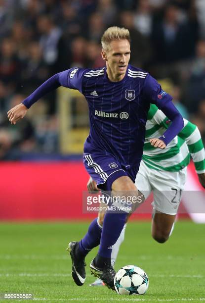 20170927 Brussels Belgium / Rsc Anderlecht v Celtic Fc / 'nLukasz TEODORCZYK'nFootball Uefa Champions League 2017 2018 Group stage Matchday 2 Group B...