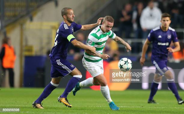 20170927 Brussels Belgium / Rsc Anderlecht v Celtic Fc / 'nSofiane HANNI Leigh GRIFFITHS'nFootball Uefa Champions League 2017 2018 Group stage...