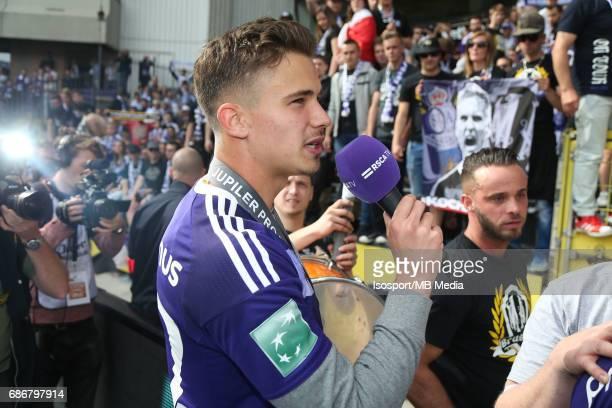 20170521 Brussels Belgium / Rsc Anderlecht v Kv Oostende /'nLeander DENDONCKER 'nJupiler Pro League PlayOff 1 Matchday 10'nPicture by Vincent Van...