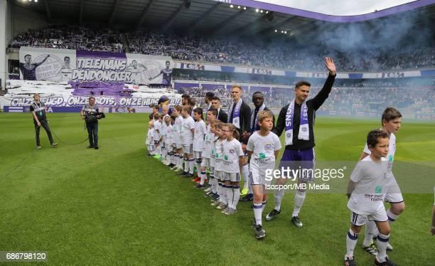20170521 Brussels Belgium / Rsc Anderlecht v Kv Oostende /'nLeander DENDONCKER'nJupiler Pro League PlayOff 1 Matchday 10'nPicture by Vincent Van...