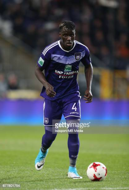 20170427 Brussels Belgium / Rsc Anderlecht v Sporting Charleroi / 'nKara MBODJI'nJupiler Pro League PlayOff 1 Matchday 5 at the Constant Vanden Stock...